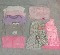 Lot of girl clothes