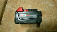 Milwaukee 18V battery  Charlotte, 28216
