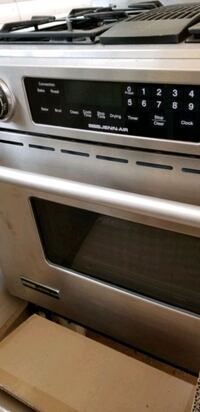 In cabinet electric stove  with grill