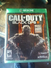 Call of Duty Black Ops 3 Xbox One game case Littleton, 80123