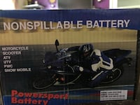 Motorcycle battery New Castle, 47362