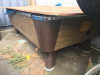 brown wooden drop leaf table Los Angeles, 90045