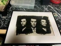 Framed Goodfellas sketch Berwyn, 60402