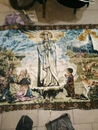 Mother Mary's unending loves rug