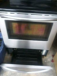 white and black electric range oven Naperville, 60540