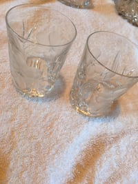 2 real Crystal drinking glasses Des Plaines, 60016