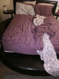 Queen size bed set moving and bought brand new one Las Vegas, 89108