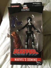 "Marvel Legends 6"" Domino Action Figure"