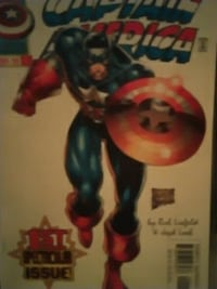 Captain America very first edition from 1996 in America