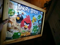 3D Angry Birds Puzzle Picture Red Deer