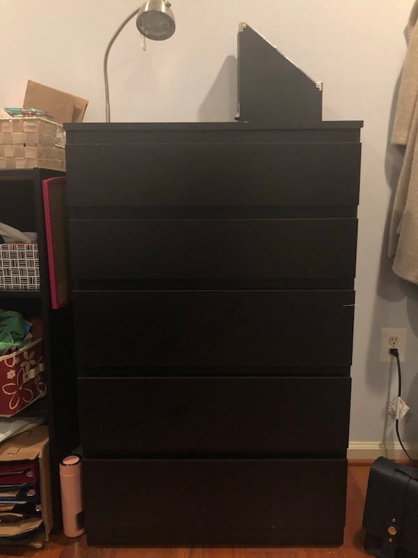 5 drawer dresser only $40