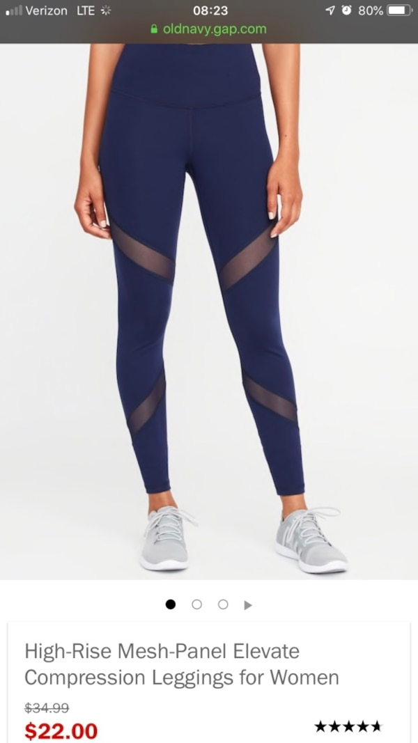 010e108099765 Used Brand New With Tags Old Navy Compression Leggings for sale ...
