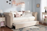 Twin Bed with Bottom Trundle Arcadia