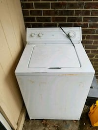 white top-load clothes washer 153 mi