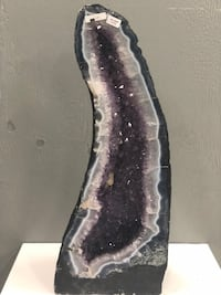 Amethyst Geode with agate inlay 60cm tall  Toronto, M9W 7A1