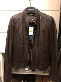 BNWT Cole Haan Leather Jacket size Small Vancouver, V6C 2Z7