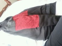 Red and black hoodie perfect condition Bailey, 27807