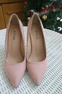 Hot pink heels from justfab size 8 Gaithersburg, 20877