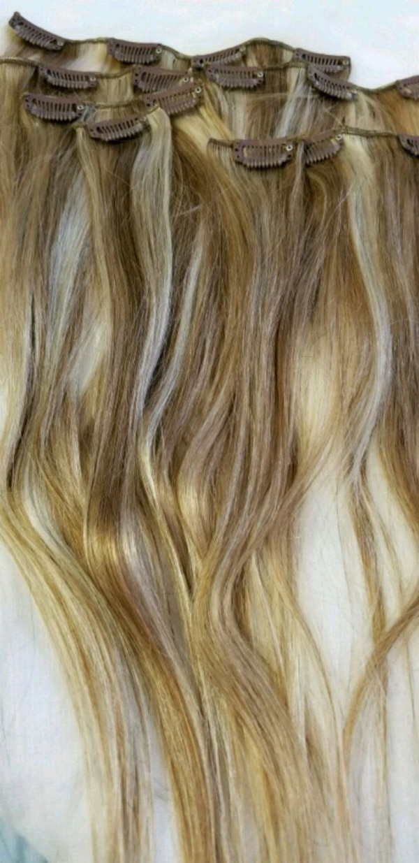 Real human hair extension new