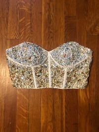 Women's Jewel corset top size 6 new never worn excellent condition  Washington, 20002