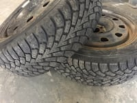 2 tires and rims Goodyear size 215/55/17 Toronto, M9W 6T5