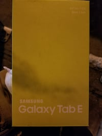 Brand new in box galaxy tablet.
