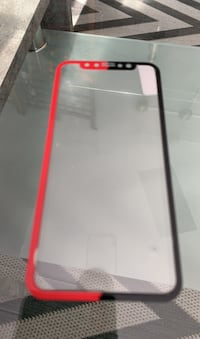 iPhoneX/XS screen protector Oslo, 0580