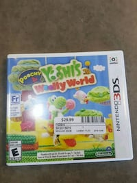 3DS Yoshi Woolly World Ajax, L1S 4E5