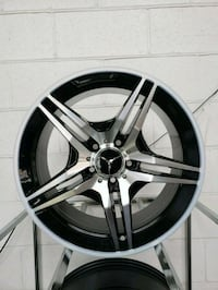 """Mercedes benz wheels mags 17"""" 695$ new in box"""