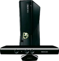 Microsoft Xbox 360 Slim with Kinect 250GB   Burtonsville, 20866
