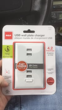 USB wall charger 2x faster rapid charger Gresham