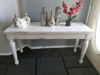 Sofa table or console table refinished  Edmonton, T5Y 2S9