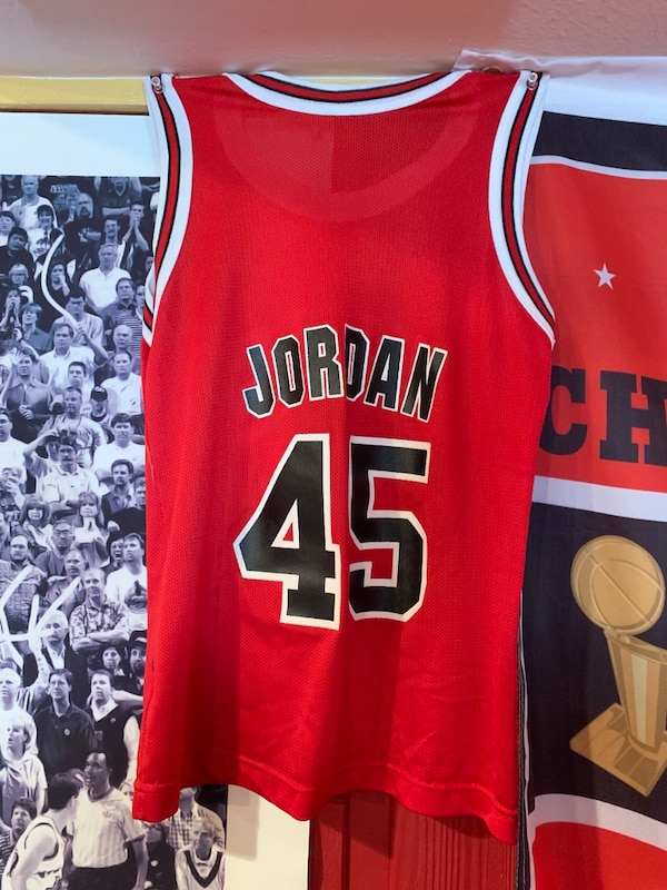 58730bebf6e Used Youth #45 Jordan Jersey for sale in Downers Grove - letgo