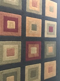 Brown, white, and blue area rug Rockville, 20852