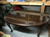 Coffee Table with glass Easton, 02356