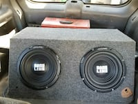 Two alpine 12s subs
