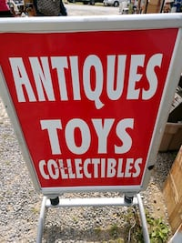Antiques toys and collectibes sign Londonderry, 03053