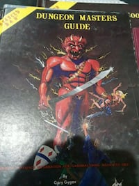 Dungeon Masters Guide by Gary Gygax book