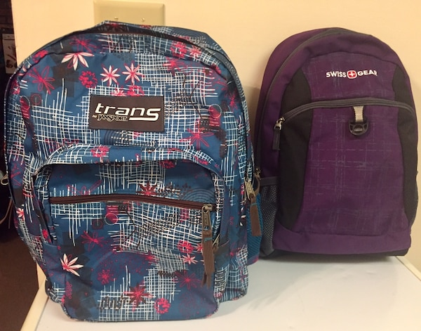 Women's/Girls Swiss Gear or Trans JanSport Backpack (Gently used!)
