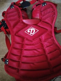 Diamond Catcher's Chest Protector DCP 12 with removable Groin Protection {youth\small}