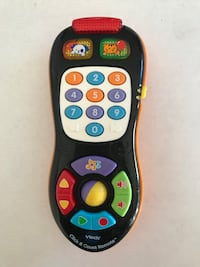 VTech Click and Count Remote toy, Black Yonkers, 10701