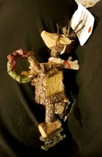 """Skating Reindeer Ornament approx 4 1/2"""" Fort Collins, 80521"""