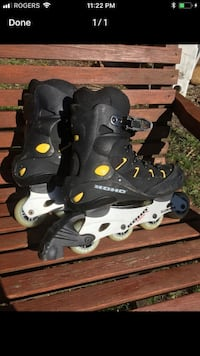 Koho rollerblades with new brakes 718 km