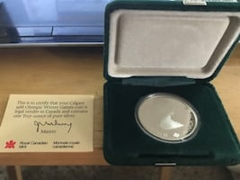 1988 OLYMPIC SILVER 20.00 COIN