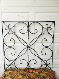 "Large iron decor (39"" tall/wide) Bossier City, 71112"