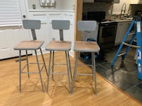 3 Bar Stools Sterling, 20164