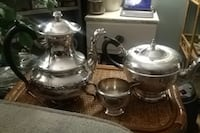 Marlboro e.p copper 1940's tea set