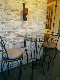 3 piece pub table and chairs  Albany, 12208