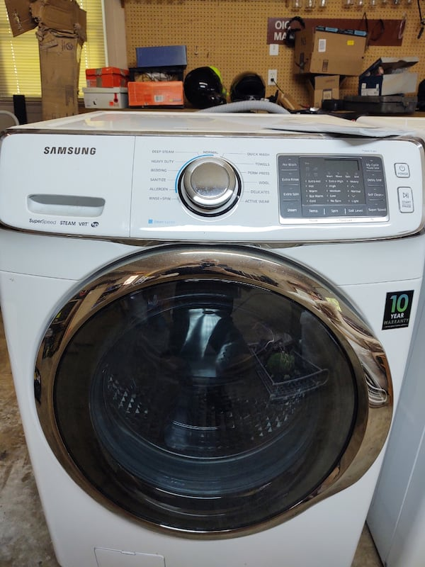 Samsung washer and dryer 1
