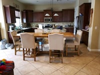 Kitchen Table with 6 Chairs  Chandler, 85286